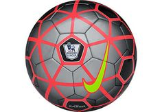 Nike EPL Saber Soccer Ball - Black and Grey