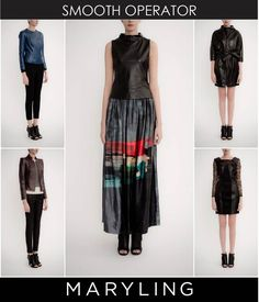 Leather collections.