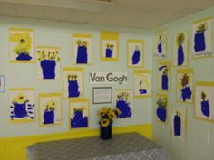 Van Gogh - painting what you observe // Supplies: paper, paint, food or flowers for still life //  Food unit in January
