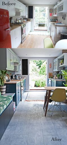 diy kitchen makeover reveal from french for pineapple kitchens