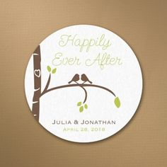 Birch Tree Love Coaster | Events by L