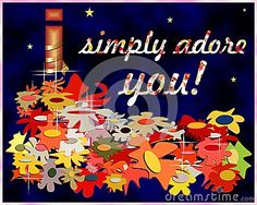 I Simply Adore You - Download From Over 40 Million High Quality Stock Photos, Images, Vectors. Sign up for FREE today. Image: 52678051