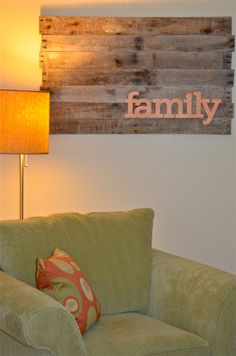 Remember the Good Times: Altered Project: Family Pallet Wall Art by Thomas Swift