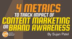 4 Metrics to Track Impact of Content Marketing on Brand Awareness http://qoo.ly/etbif
