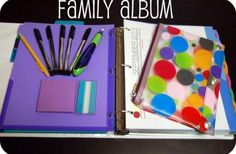 DIY:Family Organization Binder- Brilliant Idea