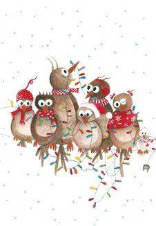 Uitgeverij Ikko nieuwjaarsbrief illustratie An Melis