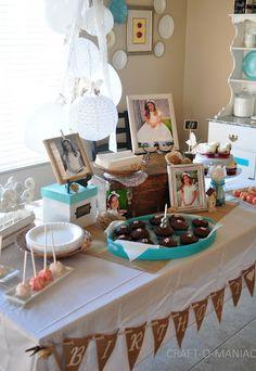 DIY 8th Birthday Baptism Party #party #birthday