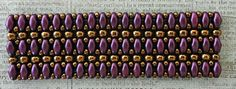 Linda's Crafty Inspirations: Bracelet of the Day: Mystery SuperDuo Bracelet Updated