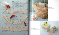 My First Hairpin Lace Japanese Craft Book by pomadour24 on Etsy