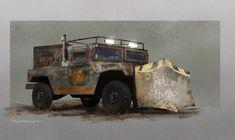 post apocalypse vehicle by AndreLammers.deviantart.com on @DeviantArt