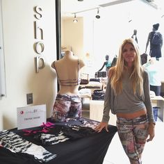 Come meet Corrina #Equinox #WestHollywood! We're there all weekend for our trunk show. Great opp to come try multiple sizes and styles on!