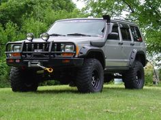 2000 Jeep Cherokee Xj Mods 4x4 Truck