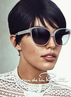 <3 the sunglasses (by Norman Jean Roy for Oscar de la Renta S/S14)