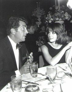 Dean Martin...Natalie Wood  late 1960's