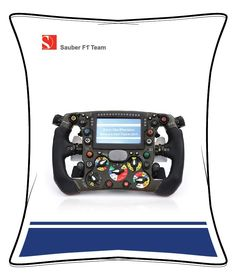 "Sauber F1 Team Beanbag ""Steering Wheel"" Bean Bag, Nintendo Consoles, F1, Learning, Passion, Studying, Bean Bags, Teaching, Education"