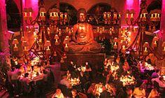 Buddah Bar; Asian Fusion Dinner; Like TAO; chic bar at night