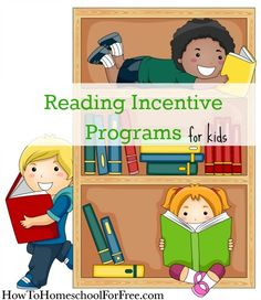 HUGE list of the free reading incentive programs for kids!!  Some are just available during the summer and some are year-round!