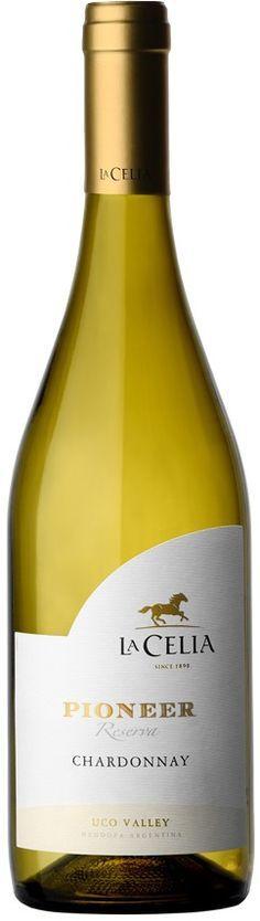 """""""Pioneer"""" Chardonnay 2013 - Bodega Finca La Celia, San Carlos, Mendoza---------------------- Terroir: La Consulta (San Carlos)-------------------- Crianza: 6 meses en barricas de roble francés de 1er. y 2do. uso (40% del blend)"""