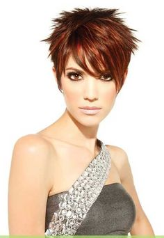 Lovely and Attractive Pixie Cut with Awesome Highlights and Little Lovely Spikes