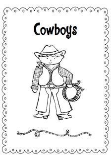 Two different products, but both on Cowboys. K - Grade 1  $  Currently has a giveaway open for second product.  Pop over and enter the giveaway.