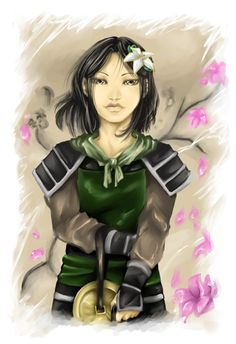 Mulan, but it reminds me so much of Toph!!
