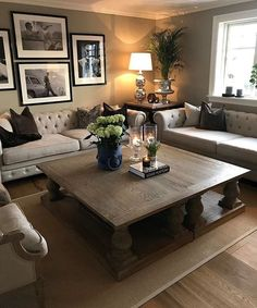 ❥Pinterest: Yarenak67 · Large Living Room FurnitureDecorating ...