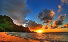 Sunset, Hawaii -  Aloha!