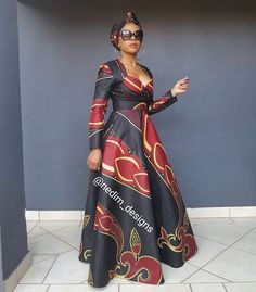 Winter Maxi Dresses from Diyanu - Ankara Dresses, Shirts & African Fashion Ankara, Latest African Fashion Dresses, African Dresses For Women, African Print Fashion, Africa Fashion, African Attire, African Print Dress Designs, African Print Dresses, Winter Maxi