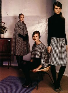 Timeless houndstooth for fall…..