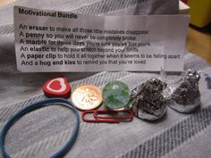 Motivational bundle - lovely gift for someone going away or going through a tough time.