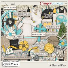 A Blessed Day - Kit  from Designs by Connie Prince released Aug 2014