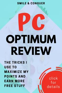 My review of the PC Optimum program and how you can maximize your points for more FREE STUFF! Make More Money, Extra Money, Paying Back Student Loans, Household Expenses, Debt Repayment, Save Money On Groceries, Get Out Of Debt, Budgeting Money, Finance Tips