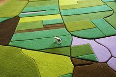 Land carpeting.