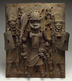 Benin Yoruba shield