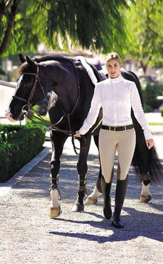The most important role of equestrian clothing is for security Although horses can be trained they can be unforeseeable when provoked. Riders are susceptible while riding and handling horses, espec… Equestrian Boots, Equestrian Outfits, Equestrian Style, Equestrian Fashion, Horse Riding Boots, Horse Riding Clothes, Riding Pants, Horse Girl, Horse Love