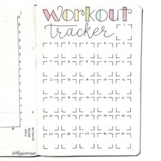 Using my Bullet journal for weight loss Tracking Planning and 71 Examples - 13 fitness Tracker planner ideas Bullet Journal For Weight Loss, Bullet Journal Workout, Bullet Journal Ideas Pages, Fitness Journal, Bullet Journal Spread, Bullet Journal Inspo, Bullet Journal Layout, Journal Pages, Diet Journal
