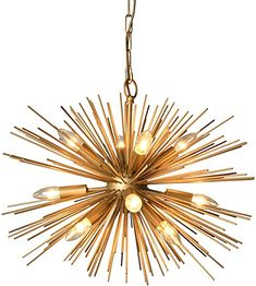 Amazon.com: AA Warehousing Y-Décor 12 Light Gold finish Chandelier: Home & Kitchen