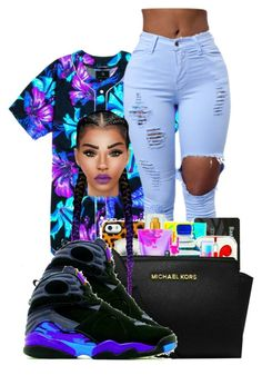 """Bright asf"" by ballislife ❤ liked on Polyvore"