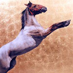 Anne Marie Kornachuk Art Work  #Horses #Equestrian #Art