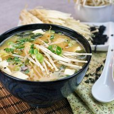 Miso Soup – My ultimate quick and easy meal! | The Healthy Foodie