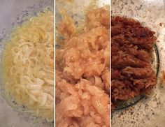 Caramelize onions in the microwave. Alton Brown technique. Takes 45 minutes but no constant watching and stirring.