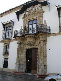 Portada del palacio de Bertemati - historia. Hoy sede de la Diócesis de…