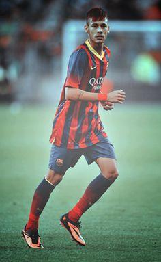 Neymar....For some reason, this photo looks fake.