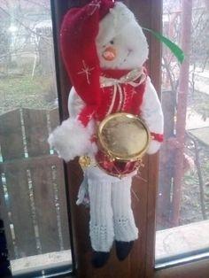 SNOWMAN HANDMADE  CHRISTMAS DECOR