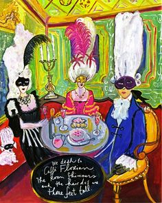 """""""Past Perfect: The Carnevale in Venice"""" by Maira Kalman"""