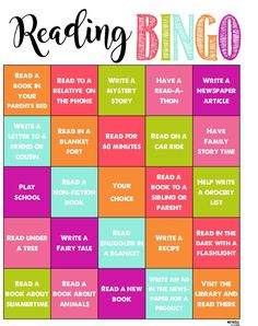 Reading BINGO for summer- Summer Reading Program- Fun and Positive way to keep the kids learning all summer Get Children Reading With This Summer Reading Program for Kids: Games and Goals, Chore Chart and Raffle Rewards Printables.all for FREE! Reading Programs For Kids, Reading Games For Kids, Reading Bingo, Bingo For Kids, Reading Help, Summer Reading Program, Children Reading, Summer Programs For Kids, Kids Programs