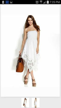 White linen maxi $21.00 ebay
