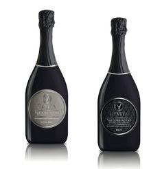 Creazione etichette vino prosecco Superiore di Valdobbiadene (versione BRUT ed EXTRA DRY) • By ODD Associati