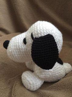 Pattern Crochet Snoopy