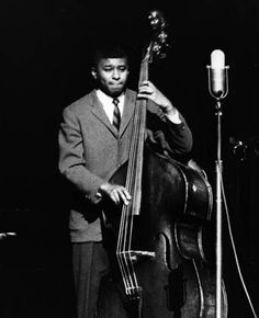 Paul Chambers; was one of the premier bassists in jazz history.  Classically trained, he joined Miles Davis' quintet at age 20 in 1955 and stayed until 1963.  In addition to Kind of Blue, he played on several landmark albums including Coltrane's Giant Steps, Monk's Brilliant Corners, and Oliver Nelson's The Blue and the Abstract Truth.  He also made several albums as leader fo Blue Note.